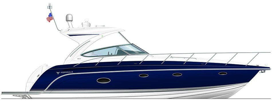 Formula Boats 40 Performance Cruiser Boat sales Naples Florida Amzim Marine